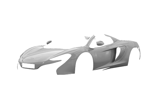 Цвета кузова 650S Spider